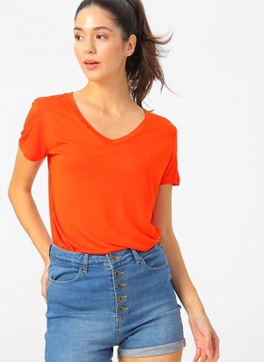 Fashion Friends Tişört Oranj